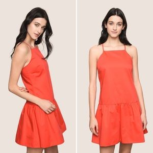 NWT Armani Exchange Cross-Back Drop Waist Dress